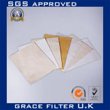 Промышленный фильтр ткани из стекловолокна из политетрафторэтилена ткань ткани фильтра