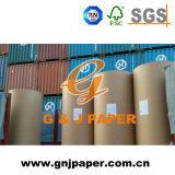 Papel de embalagem natural do Newsprint de China 48.8GSM em Rolls