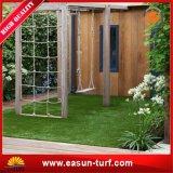 Grama artificial do relvado da grama sintética da paisagem para o jardim da decoração