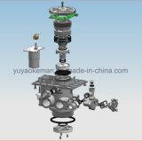 2 toneladas válvulas automáticas de válvula de control de Downflow del hogar/del suavizador de agua con la visualización del LCD