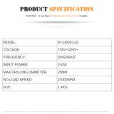 gli strumenti di corrente elettrica di 240With25mm Kynko muoiono la smerigliatrice (KD03)