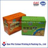 Boîte de papier de l'impression couleur pour les Cookies