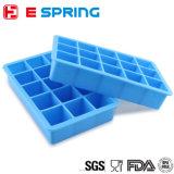 Les silicones froids de générateur de glaçon moulent 15 plateaux de glace de grand dos de congélateur de cubes
