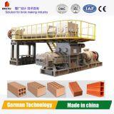 自動煉瓦作成機械真空の押出機中国製
