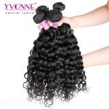 Cabelo humano natural Curly brasileiro do Weave 100% do cabelo