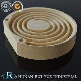 Alto tubo di ceramica della mullite del corindone della cordierite dell'elemento della mullite di resistenza termica