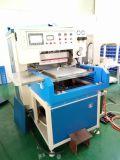 O PLC eficiente elevado controlou a máquina de soldadura plástica da parte superior de sapata feita em China