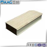 Color de aluminio de moda de madera del perfil