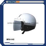De Helm van de Motorfiets van Senken, de Halve Helm van het Gezicht, Open Halve Helm