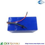 Paquete recargable 72V 40ah de la batería LiFePO4 para la vespa de E-Motor/
