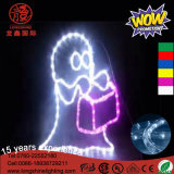 LED 60cm Montée Flying Witch Ghost Lumière décorative pour Halloween Décoration