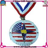 중국 기념품 메달 선물을%s 공장에 의하여 생성되는 금속 메달
