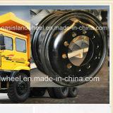 頑丈な運搬量のトレインのための採鉱トラックの車輪(24-8.5 24-10.00)