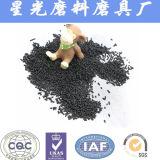 Лепешка активированного угля фильтра средств 4mm аквариума
