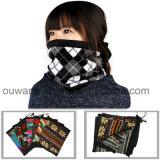 Réchauffeur sans joint polaire unisexe de collet de masque protecteur d'ouatine de taille faite sur commande pour l'hiver