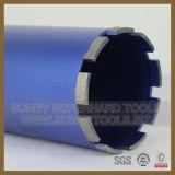 Segment de morceau de foret de faisceau de diamant pour le béton armé de découpage