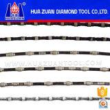 Zaag van de Draad van de Diamant van de Hoogste Kwaliteit van Huazuan de Agressieve Vacuüm Gesoldeerde