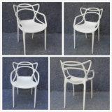 Blanc et bleu ou princesse Chair (YC-P31-1) d'époque de belle de bras de salle à manger de Transparant