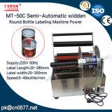Type semi-automatique machine à étiquettes de bouteille ronde (MT-50C) de Widden