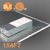 1X4FT 130lm/W LEDのフラットパネルライト、5年の保証