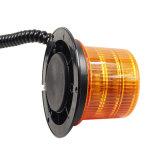 点滅のオレンジ色のライトの球根太陽回転標識の警報灯