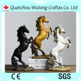 Het Europese Standbeeld van het Paard van de Douane van het Kabinet Stylewine Gelukkige Witte