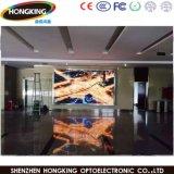 Écran d'intérieur polychrome de l'Afficheur LED P4 pour la location