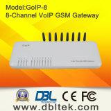 8つのチャネルGSM VoIPのゲートウェイ(GoIP_8)
