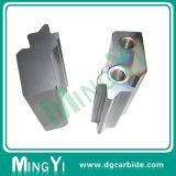 Изготовленный на заказ твердый специальный металл формы обнаруживая местонахождение блок установил с отверстиями