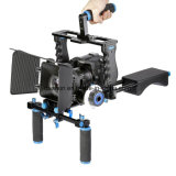 ABS Handgrip Video Universal Camera Shoulder Mount Rig para câmeras de filmagem DSLR