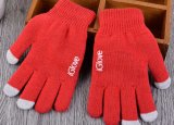 Цветастой перчатки касания экрана касания связанные нежностью акриловые