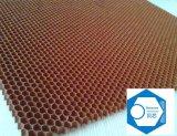 nid d'abeilles de Nomex d'épaisseur de 1mm pour le véhicule d'emballage