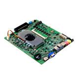 Carte mère à grande vitesse Mini Itx à bord Intel Haswell I5-4200u CPU à bord 2 * Rj-45 LAN Port Ventilateur Carte mère