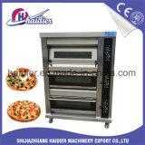 Four électrique de traitement au four de pizza de plateaux du paquet 9 du pain 3 de boulangerie