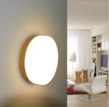 Mini lámpara decorativa de la luz de techo del vidrio LED del metal de interior contemporáneo/moderno para el pasillo en 3 tallas, Dia180mm, Dia230mm, Dia280mm