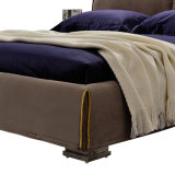 Sofá cama de diseño moderno con cubierta de tela para muebles de sala G7002A