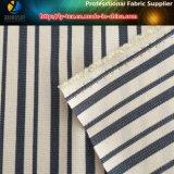 Poliéster Spandex Hilado teñido tela de la raya para los pantalones, Y / D de la raya (YD1121)