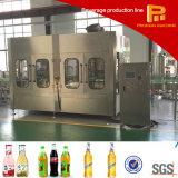 Máquina de rellenar en botella vidrio automático del vino/de la vodka/de la cerveza