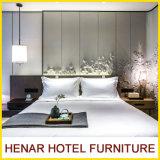 カスタム木の寝室の家具の一定の/Kingのサイズのベッド/Jwの最高の現代ホテルの家具の/Foshanの製造業者