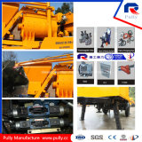 Pully Fabricación Simens Motor Schneider Componentes eléctricos Twin Shaft Concrete Mixer Trailer Bomba de hormigón (JBT40-L)