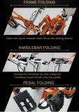 Vélo pliable de vitesse de bâti simple d'alliage d'aluminium 14 pouces de mini