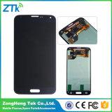 Черный белый экран касания LCD телефона для галактики S5 Samsung