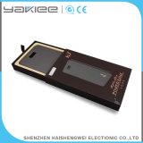Pantalla LCD de 8000mAh de energía móvil portátil Bank