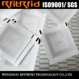 etiqueta de papel tamaño pequeño inalterable de 13.56MHz NFC