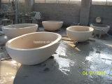 Vasca da bagno di pietra intagliata mano indipendente