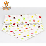 Best Selling Triangle Baby Bibs 100% Coton Bio