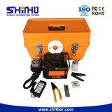 Shinho X-86 im Freien einkernige Faser-Schmelzverfahrens-Filmklebepresse ähnlich Fujikura 60s/70s mit der grossen Batterie-Kapazität