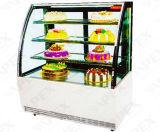 시장 시리즈는 케이크 진열장 냉각기를 냉장했다