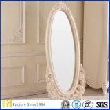 Whloesale abgeschrägter Rand Frameless silberner großer Fußboden-Spiegel für Wohnzimmer