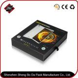 Cadre de empaquetage de papier de film sourd-muet noir fait sur commande pour le téléphone électronique